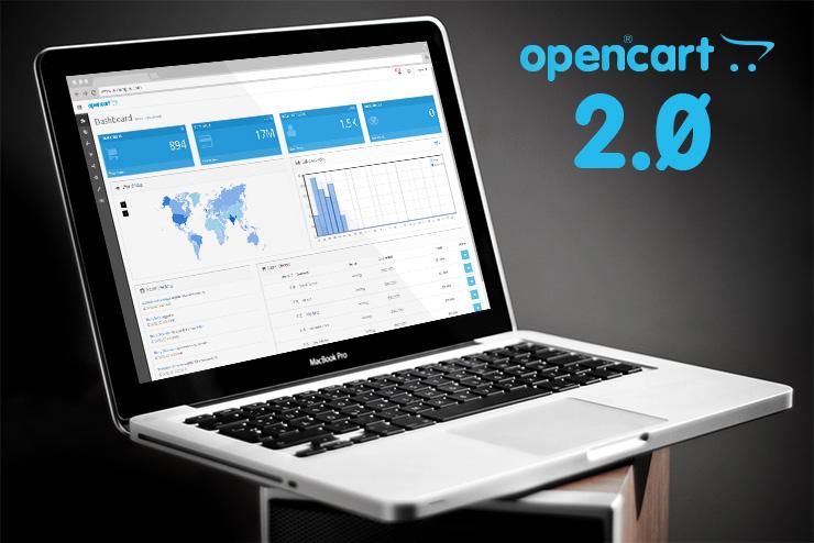 Превьюшка к познавательной статье об OpenCart 2.0