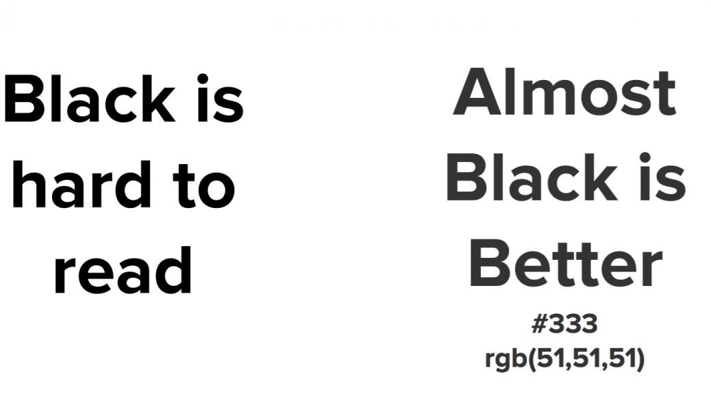 Цвет шрифта #333 - reclamare